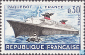 Postage Stamps - France [FRA] - Steamboat