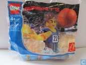 Lego 7917 Basketball player blue