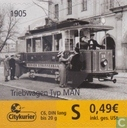 Citykurier, Bus et trams