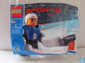 Lego 7920 Ice Hockey Player blue