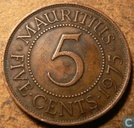Maurice 5 cents 1975