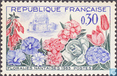 Postage Stamps - France [FRA] - Flower Show