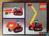 Lego 813 Gear Bulldozer Set