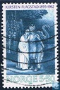 Postage Stamps - Norway - 550 blue