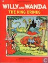 The king drinks