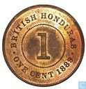 British Honduras 1 cent 1889