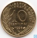 France 10 centimes 1995