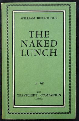 The Olympia Press; William Burroughs - The Naked Lunch - 1959