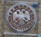 "Russland 3 Rubel 2002 (PP)""Salt Lake City"""