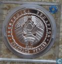 "Wit-Rusland 20 roebel 2001 (PROOF) ""Winter Olympics Salt Lake City"""