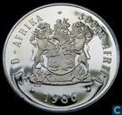 "South Africa 1 rand 1986 (PROOF) ""Year of Disabled People"""