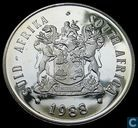 "South Africa 1 rand 1988 (PROOF) ""150th Anniversary of the Great Trek"""