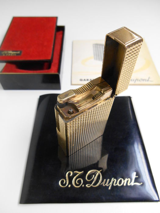 S.T. Dupont Gold Plated 20µ Lighter - jaren '60