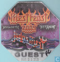 Megadeth, Judas Priest, Testament Backstage Guest Pass, 2009