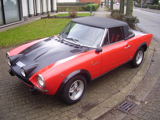885731 Fiat 124 Rally Spider Abarth Replica 1976 on new fiat 124 spider convertible