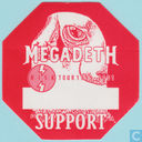 Megadeth Backstage Support Pass, 1999 - 2001