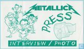 Metallica Backstage Press Pass