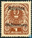 Plebiscite overprint on Austrian