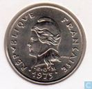 New Hebrides 10 francs 1975