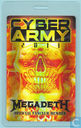 Megadeth Backstage Pass, Cyber Army Laminate 2011