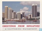Greetings from Singapore A Glittering Waterfront
