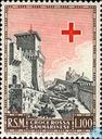 Postage Stamps - San Marino - Red cross