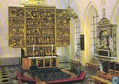 St. Canute's Cathedral Altar St Knuds Kirche