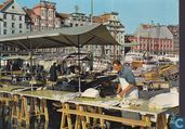 View of the fish market fisketorget