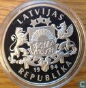"Latvia 10 latu 1994 (PROOF) ""Olympic games Atlanta"""