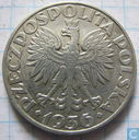 "Poland 5 zlotych 1936 ""15th Anniversary of Gdynia Seaport"""