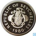 "Seychelles 50 roupies 1980 (BE) ""UNICEF and International Year of the Child"""