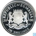 "Somalia 150 shillings 2000 (PROOF) ""Millennium"""