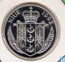 "Niue 5 dollars 1992 (PROOF) ""The Bounty"""