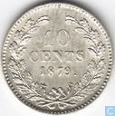 Pays Bas 10 cent 1879