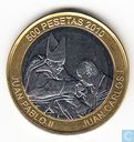 "Sahrawi Arab Democratic Republic 500 peseta 2010 ""Pope John Paul II"""