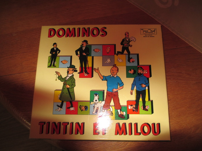 tintin jeux de domino dominos tintin et milou 1965 catawiki. Black Bedroom Furniture Sets. Home Design Ideas