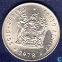 South Africa 5 cents 1978