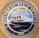 "Somalia 250 shillings 1998 ""Early 20th Century Liner - Titanic"""