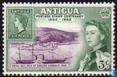 100 years stamps of Antigua