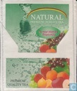 Tea bags and Tea labels - Natural - Mixed fruit Flavoured Tea