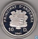 "Andorre 10 diners 2001 (BE) ""Concordia"""