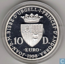 "Andorra 10 diners 1998 (PROOF) ""Future of Europe"""