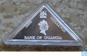 "Uganda 2000 shillings (PROOF) ""Pythagoras"""