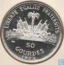 "Haiti 50 gourdes 1973 (PROOF) ""Woman and Child"""