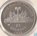 "Haiti 25 gourdes 1975 ""International woman's year"""