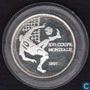 "Congo-Brazzaville 1000 francs 1997 (PROOF) ""FIFA World Cup France 1998"""