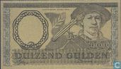 Nederlands 1000 gulden bladgoud