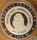 "Congo-Kinshasa 10 francs 1999 (PROOF) ""2000 Olympic Games"""