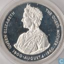 "Falkland Islands 50 pence 1980 (PROOF) ""80th Anniversary of Queen Mother"""