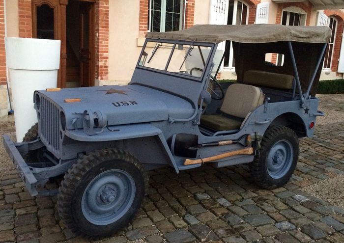 jeep willys mb us marine 1944 catawiki. Black Bedroom Furniture Sets. Home Design Ideas